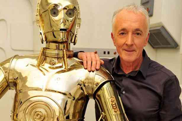 Anthony Daniels C-3PO Episode IX