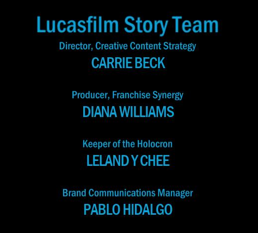 Lucasfilm Story Group - The Old Republic