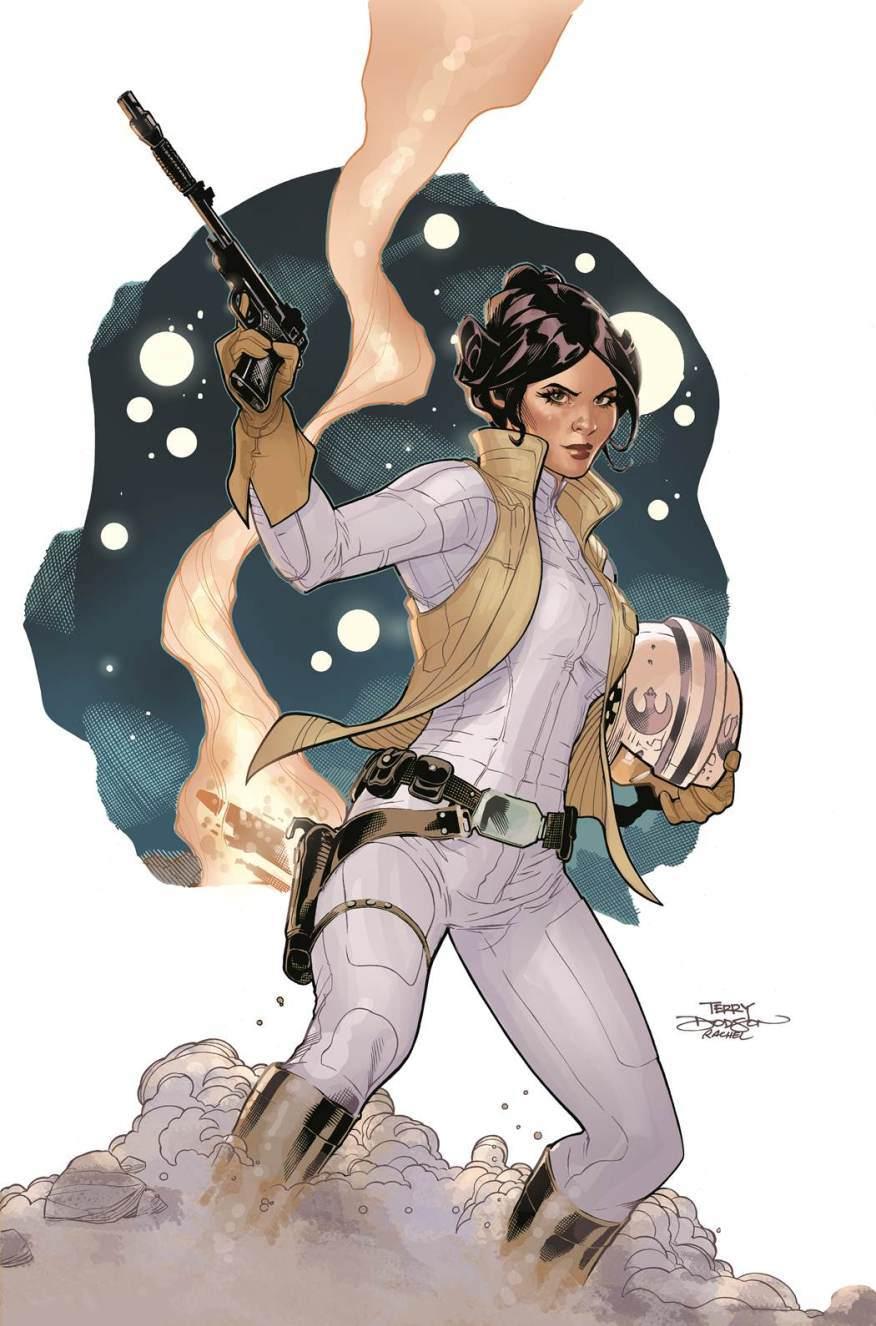 Star Wars Leia Comic