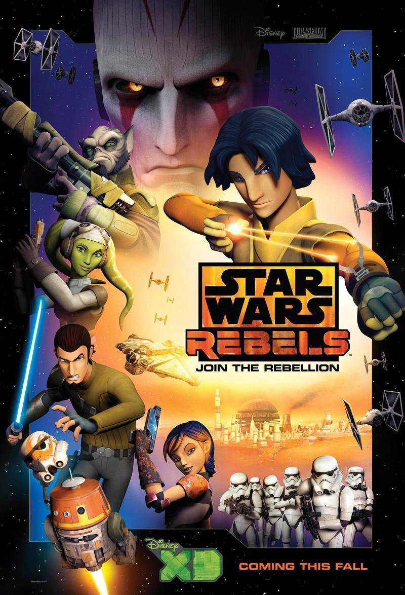 Star wars: rebels (disney xd) - season 1 thread - premieres 10/3/14