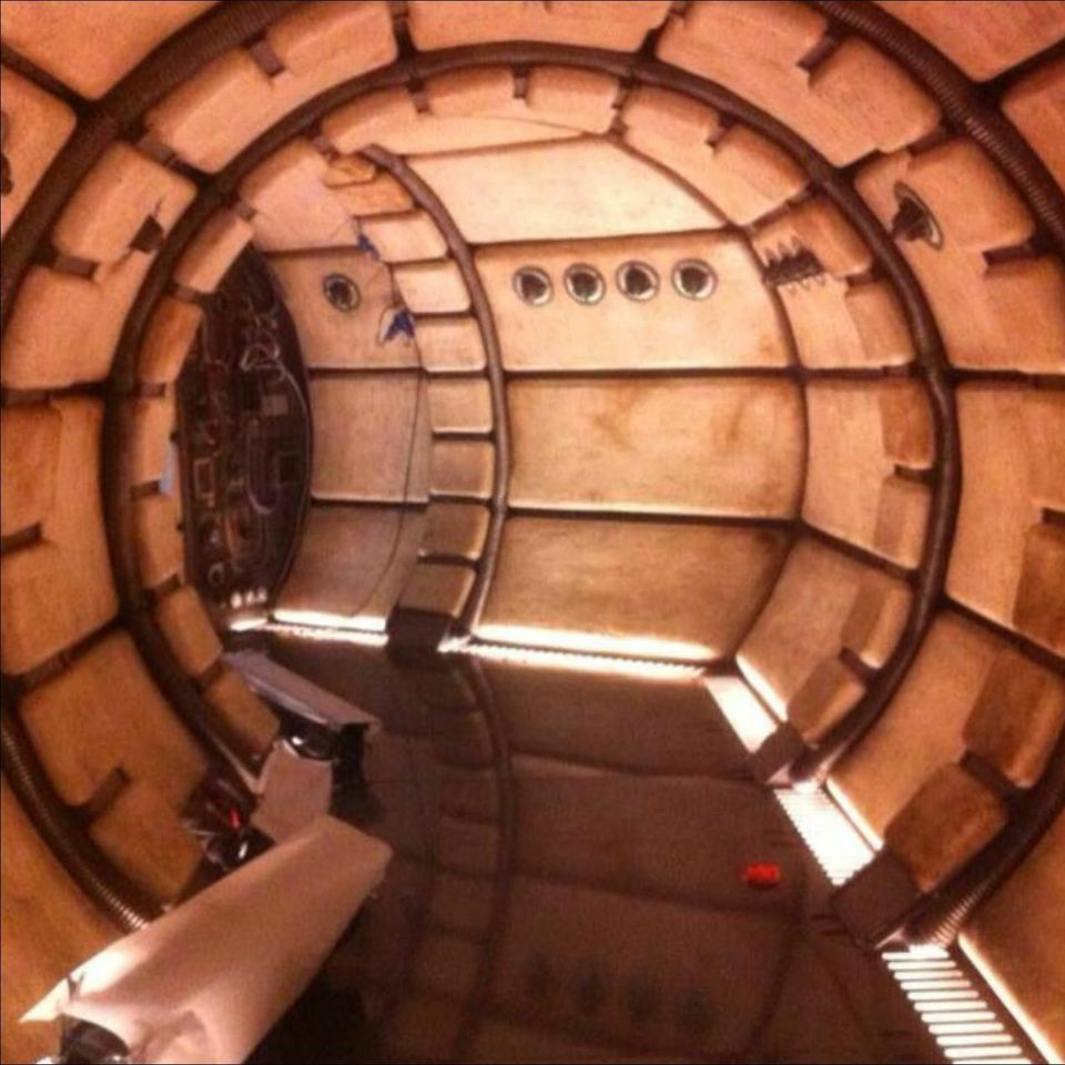 Photos of the Millennium Falcon Interior From Star Wars: Episode 7