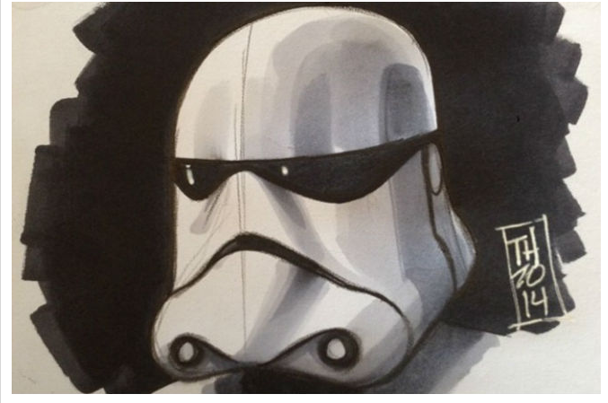 Stormtrooper Sketch