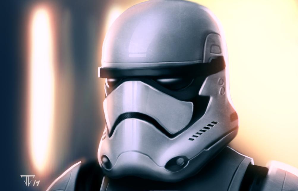 Star Wars Episode VII Stormtrooper Pics