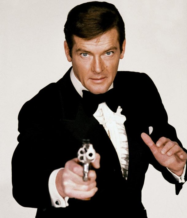 Roger Moore As James Bond, 007