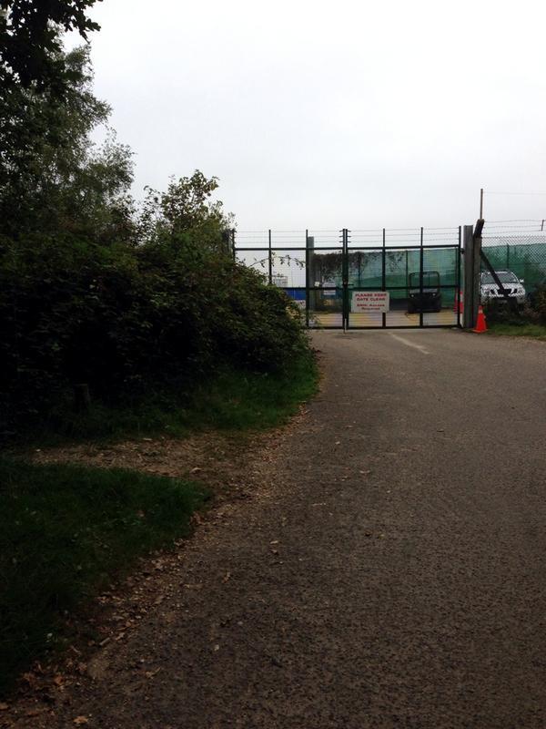 Episode VII Set Greenham Common
