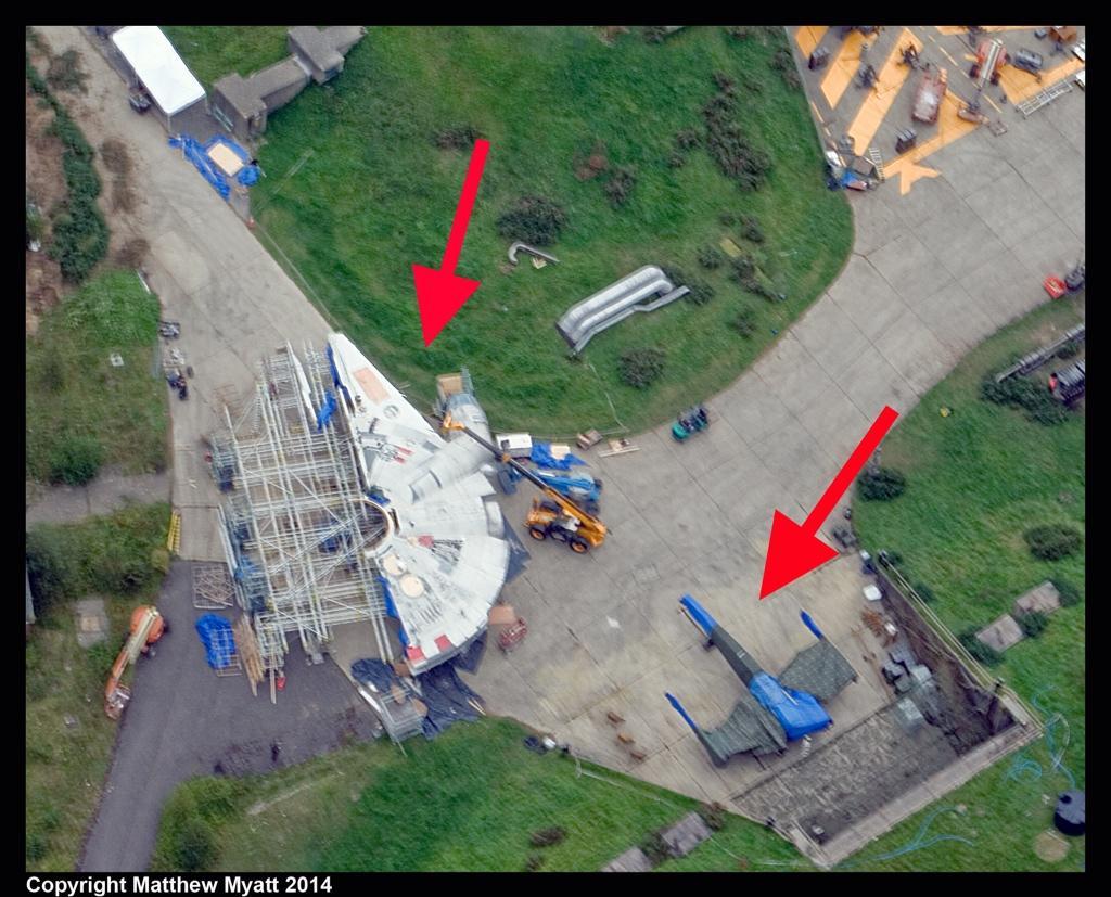 X-Wing & Falcon