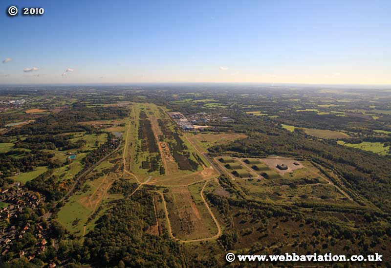 aerial photograph of Newbury Berkshire  England UK