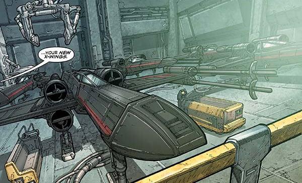 Stealth X-wing - Dark Horse comics