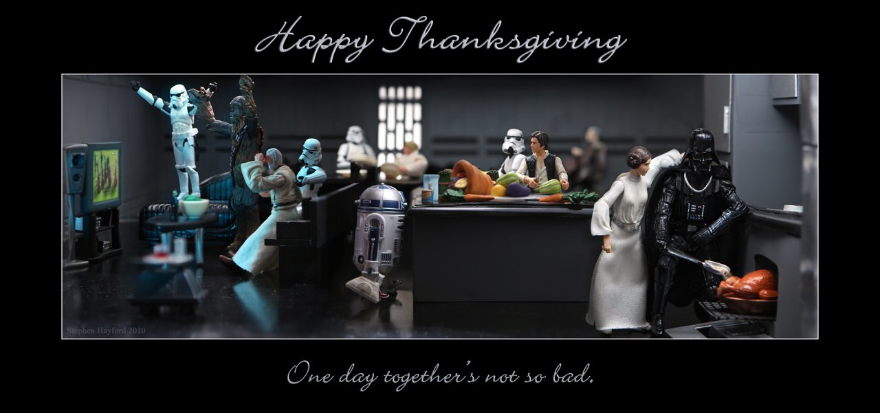 star wars thanks giving