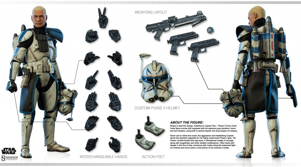 Captain Rex Accessories