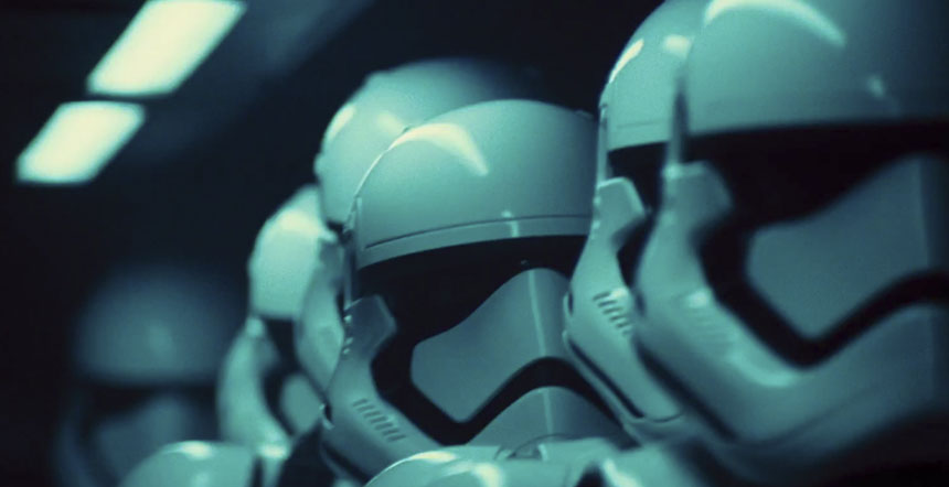 Stormtroopers - The Force Awakens teaser