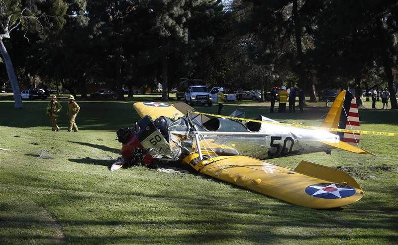 Harrison Ford Plane Crash