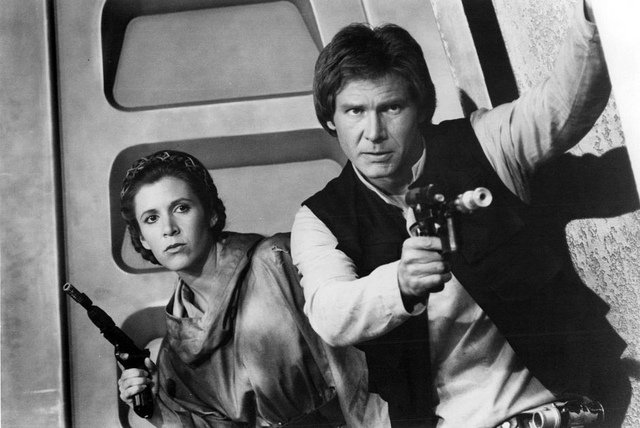 leia and han solo age difference in relationship