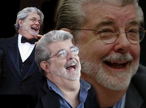 George Lucas Laughing
