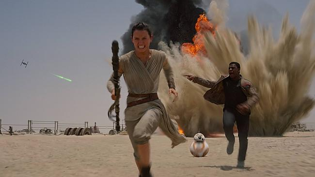 Daisy Ridley and John Boyega's Accents in Star Wars: The Force Awakens.