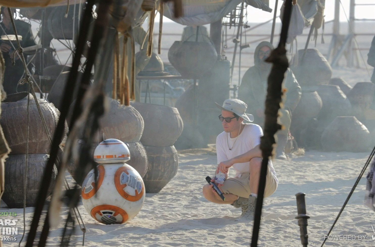 J.J. Abrams and BB-8