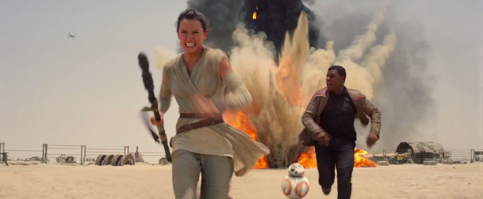 Rey and Finn
