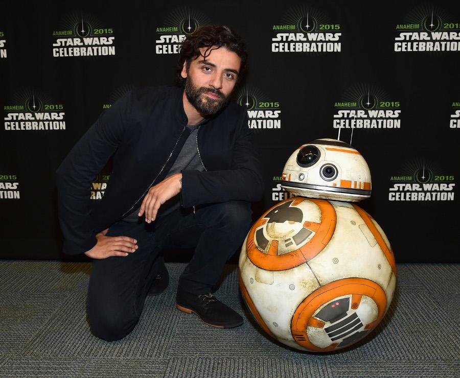 Oscar Isaac and BB-8