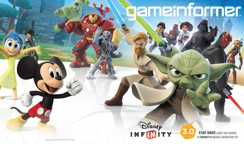 Game Informer Disney Infinity