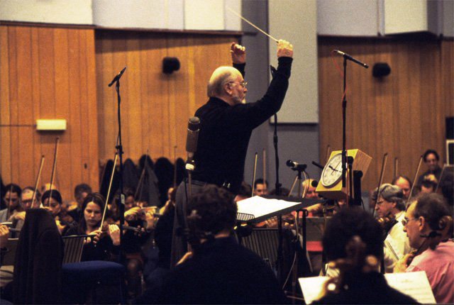John Williams conducting London Symphony Orchestra