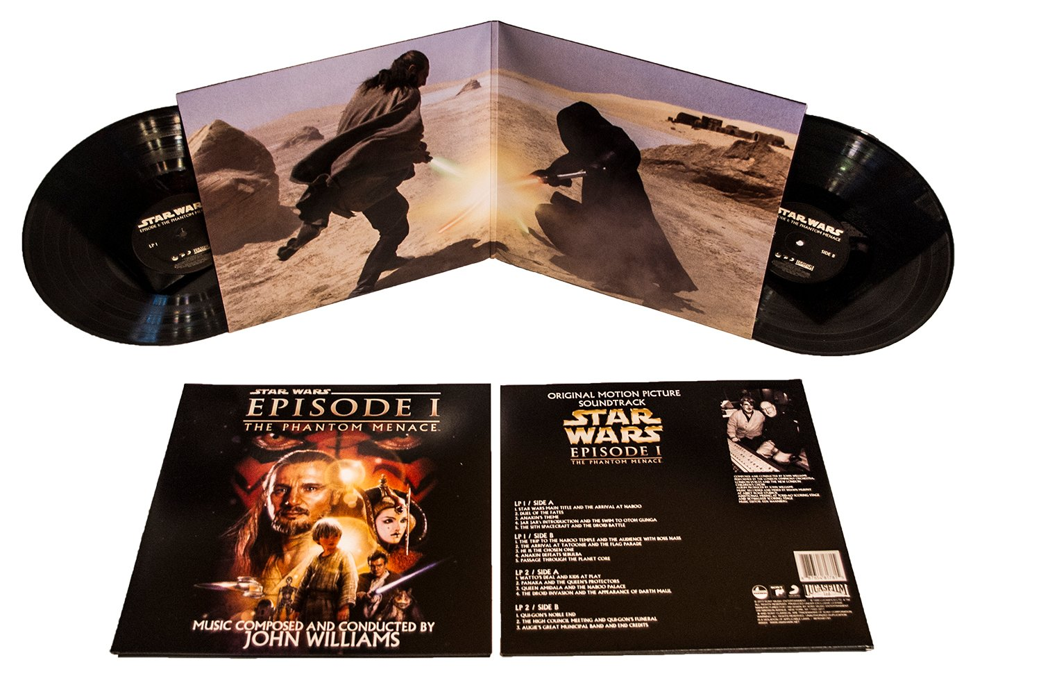 The Phantom Menace soundtrack - gatefold sleeve