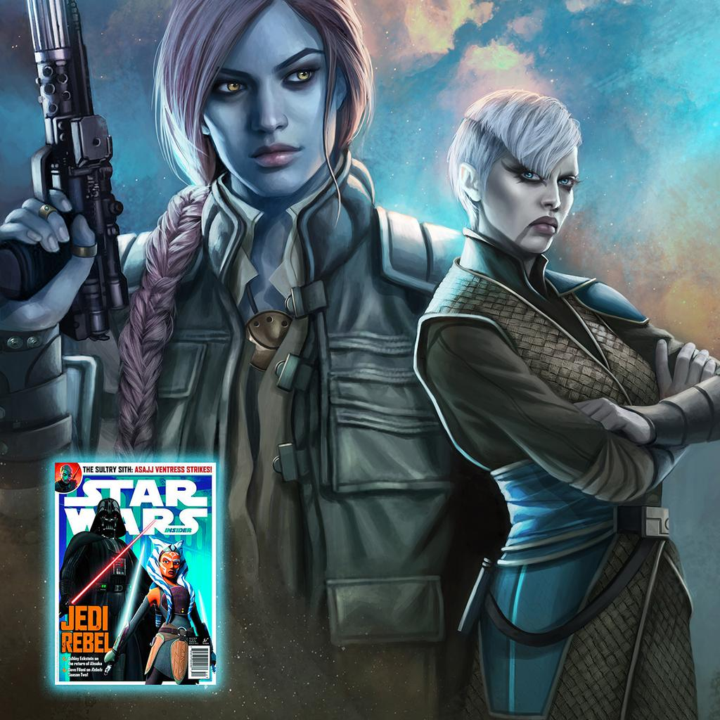 Asajj Ventress Star Wars Insider