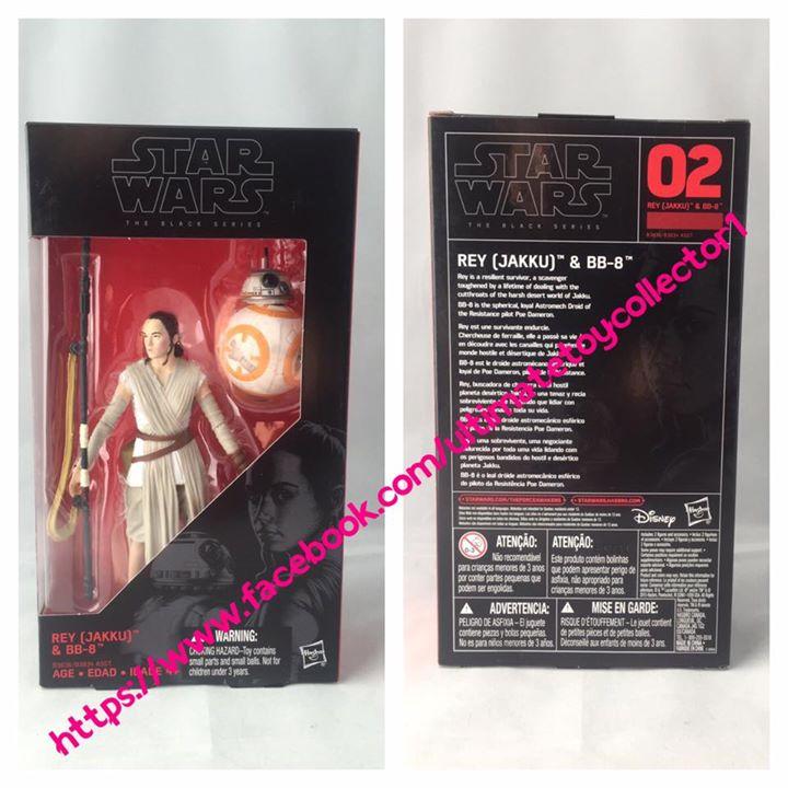 Black Series Rey & BB-8