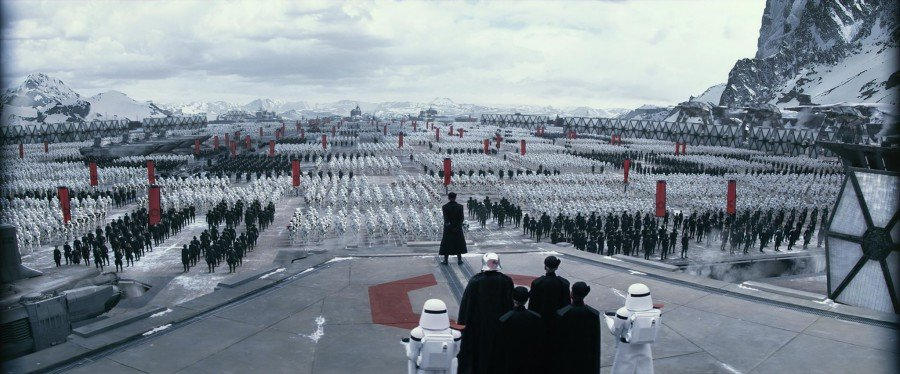 New First Order shot from TFA