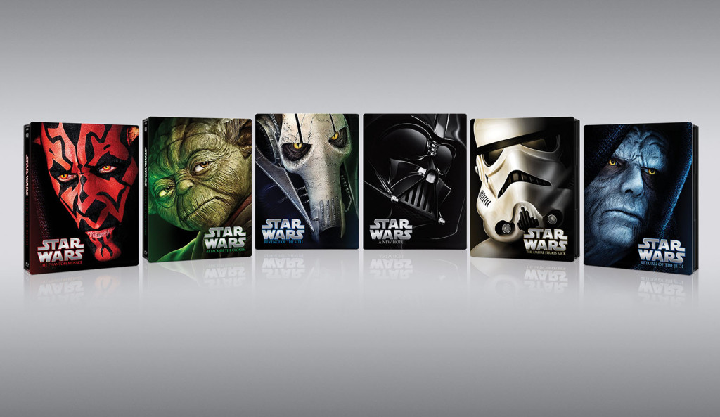 Star Wars Blu-ray steelbooks