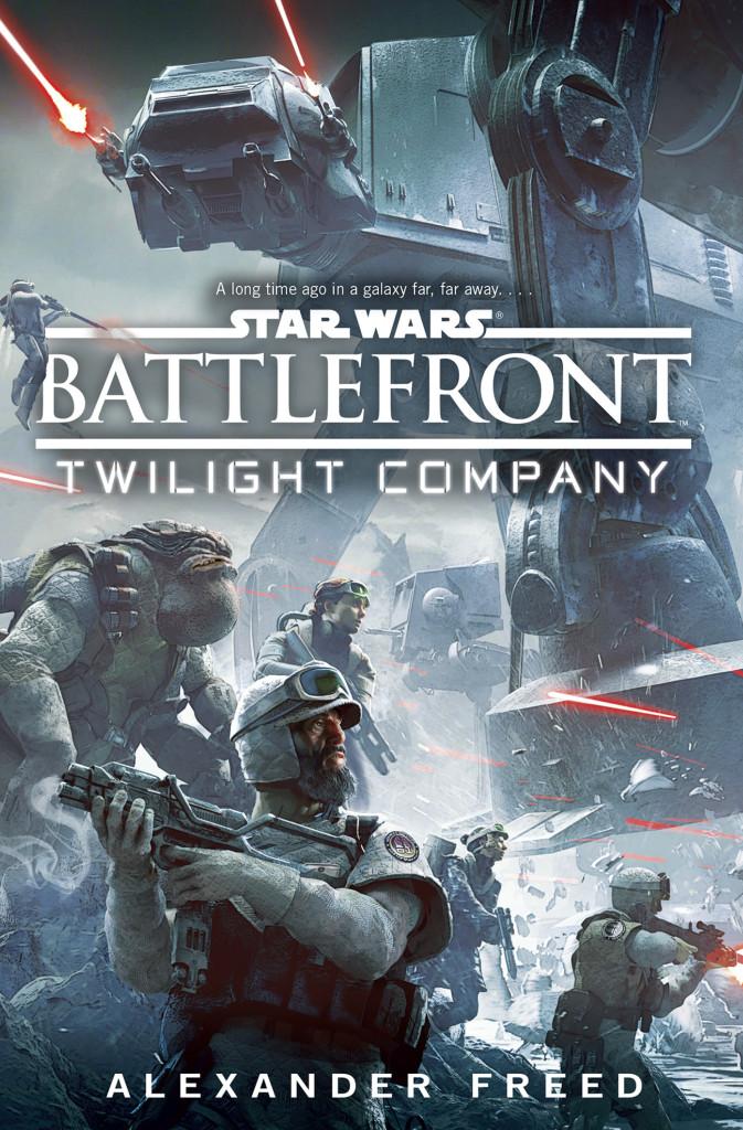 Корицата на книгата за Battlefront