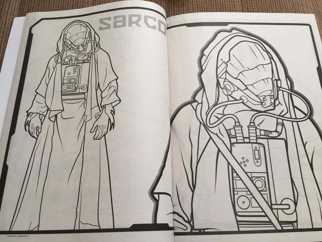 Star Wars The Force Awakens Coloring Book 10