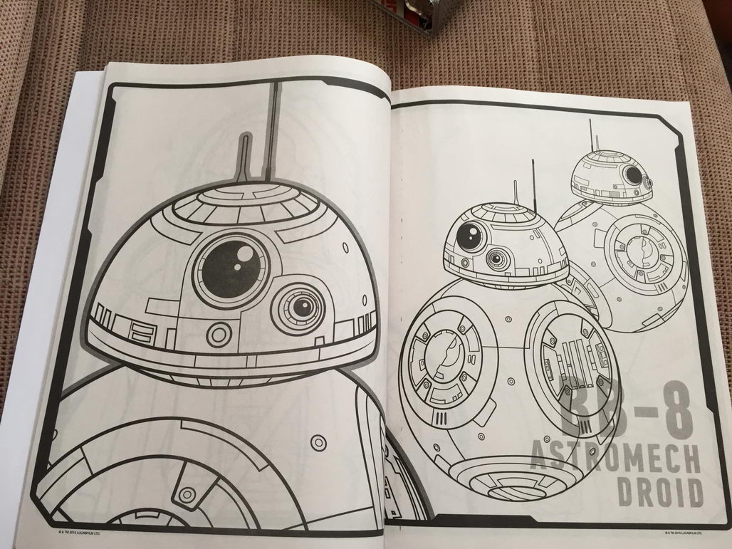Star Wars: The Force Awakens Coloring Book Reveals Two New ...
