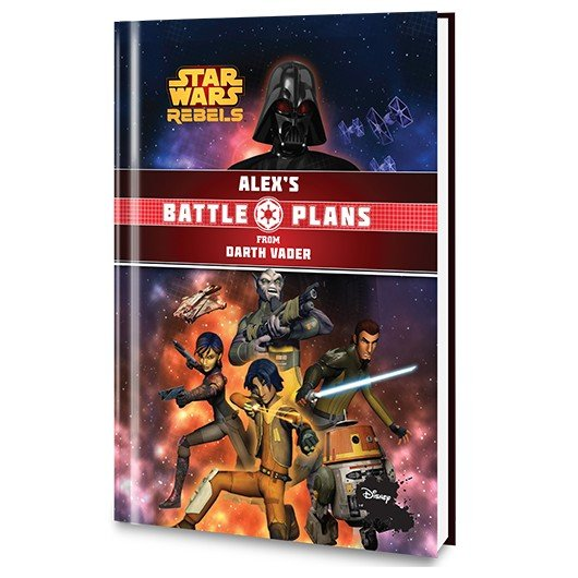 Battle Plans From Darth Vader - Cover 2