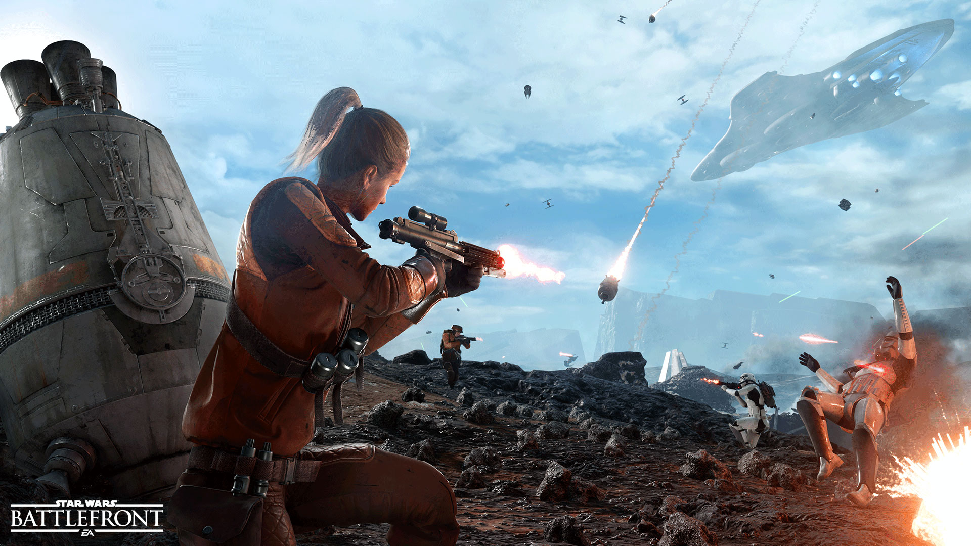 More Details On Battlefront Drop Zone Mode Star Wars News Net