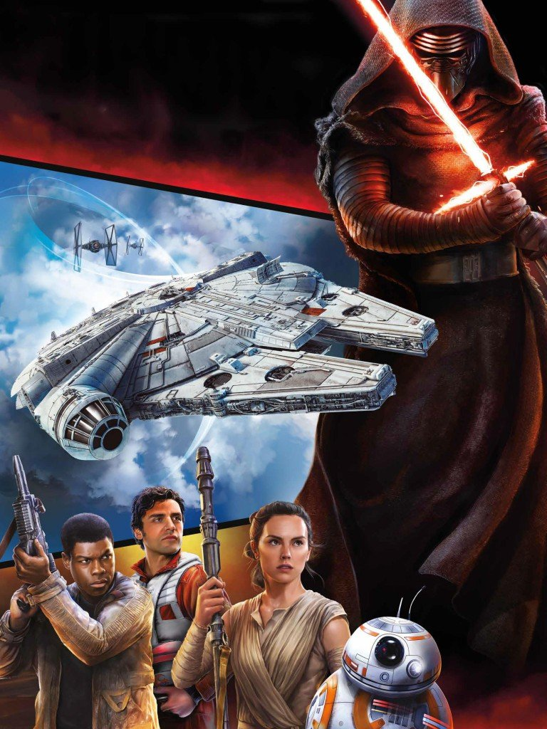 New Character Renders From The Force Awakens Merchandise