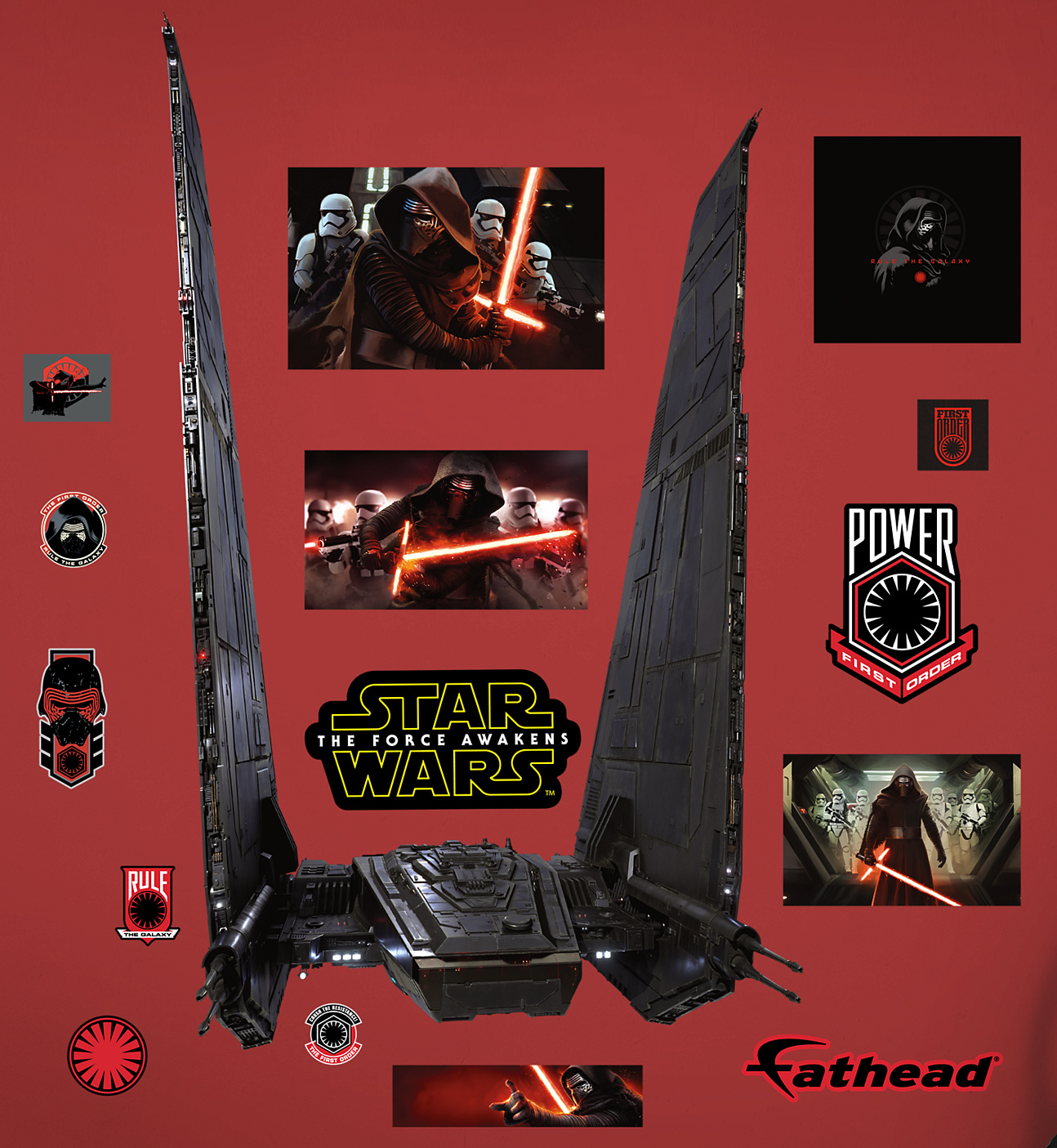A better look at the star destroyer finalizer and kylo rens command a better look at the star destroyer finalizer and kylo rens command shuttle from star wars the force awakens star wars news net nvjuhfo Images