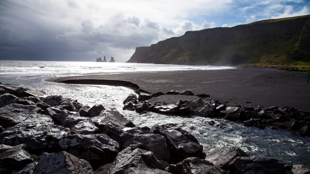 Mýrdalssandur beach, Iceland - Rogue One location