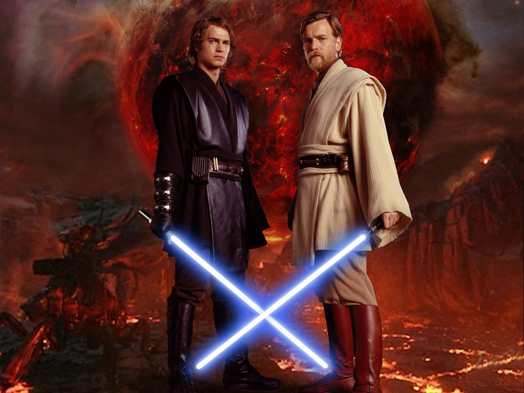 Obi vs. Anakin