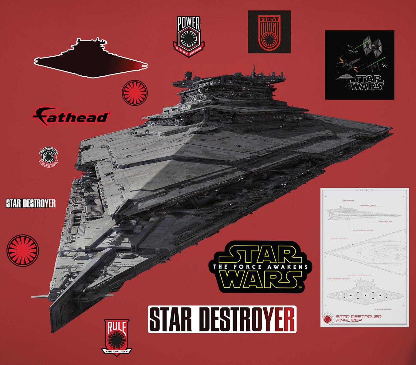 new images of u0027kylo ren u0027s u0027 command shuttle star destroyer u0026 more