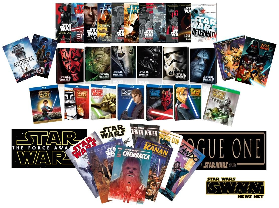 Star Wars Canon Collage