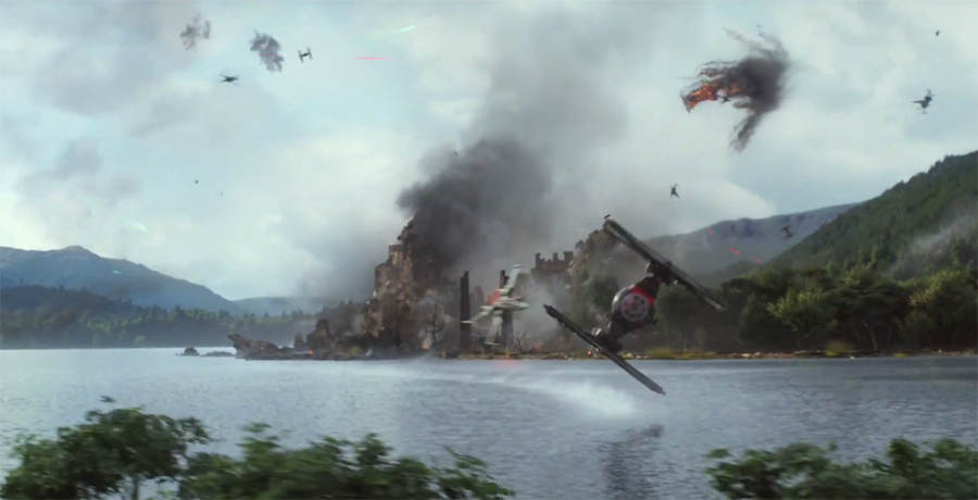 Takodana destruction
