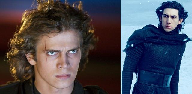 Anakin Skywalker & Kylo Ren