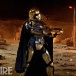Star Wars: The Force Awakens  Captain Phasma (Gwendoline Christie)  Ph: Elena Dorfman  © 2015 Lucasfilm Ltd. & TM. All Right Reserved.