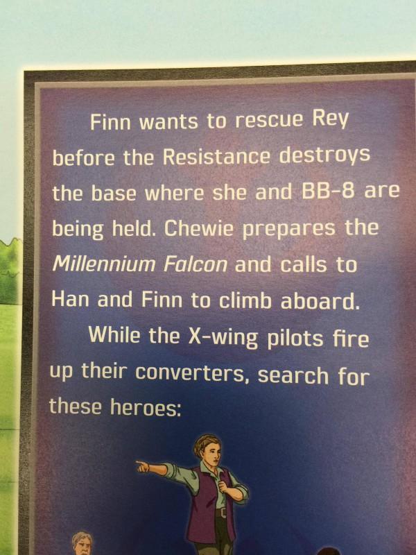 Finn rescues Rey