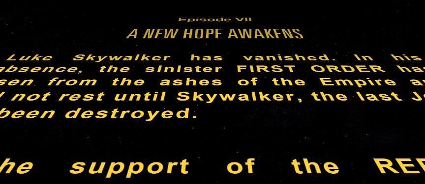 A New Hope Awakens