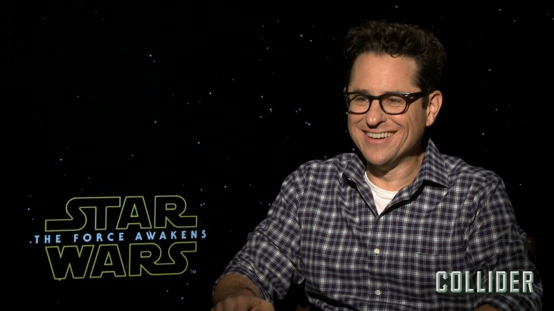 J J Abrams On The Force Awakens Deleted Scenes Kristian Harloff Interviews Harrison Ford Star Wars News Net