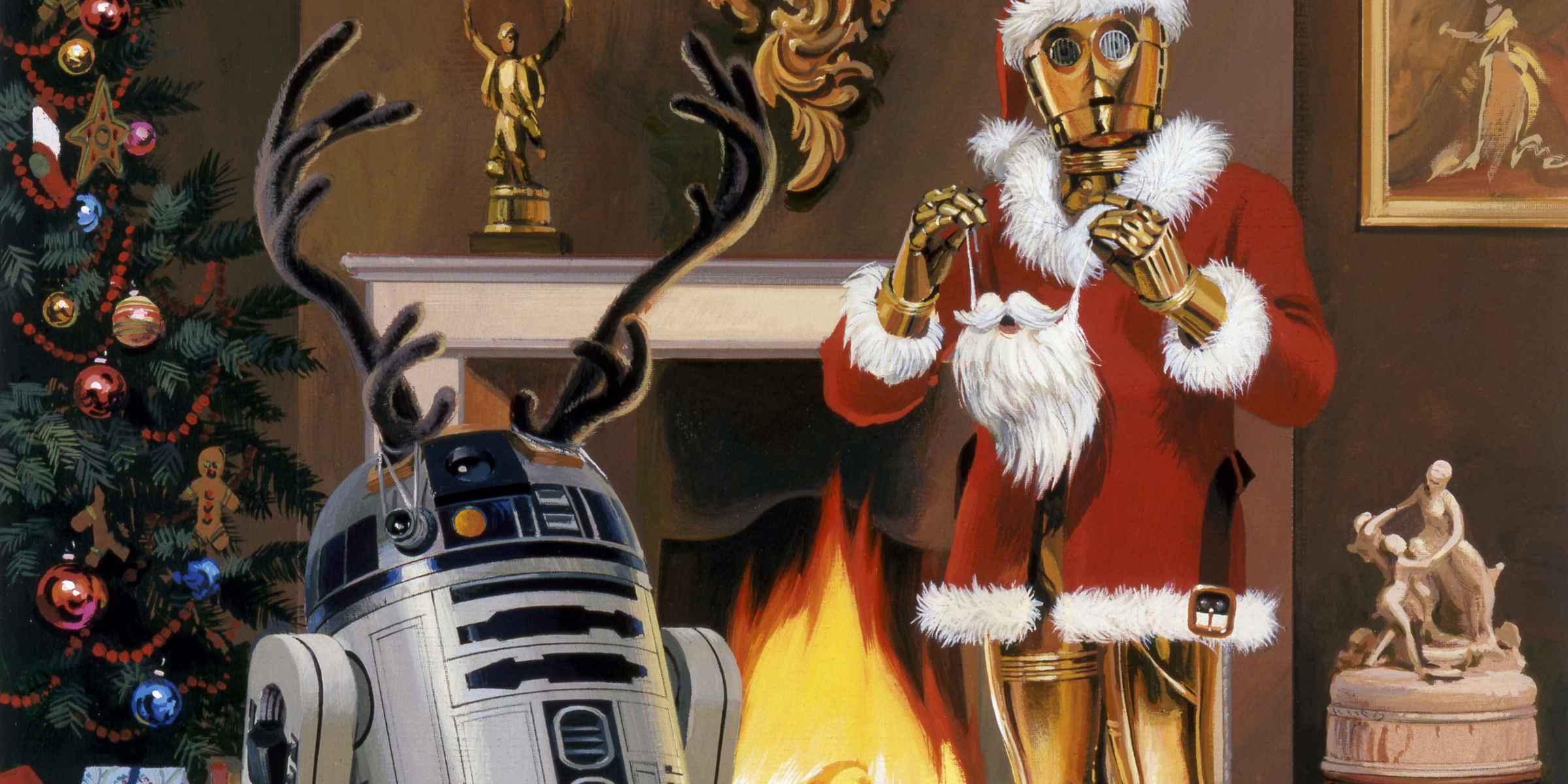 sw christmas - Merry Christmas Star Wars