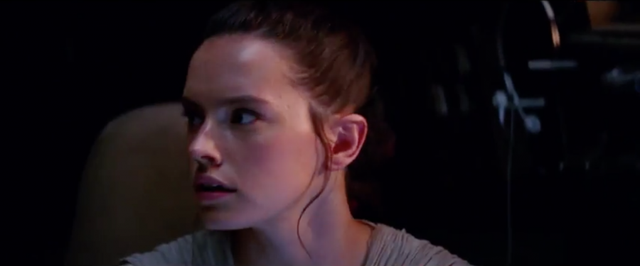 rey on the falcon
