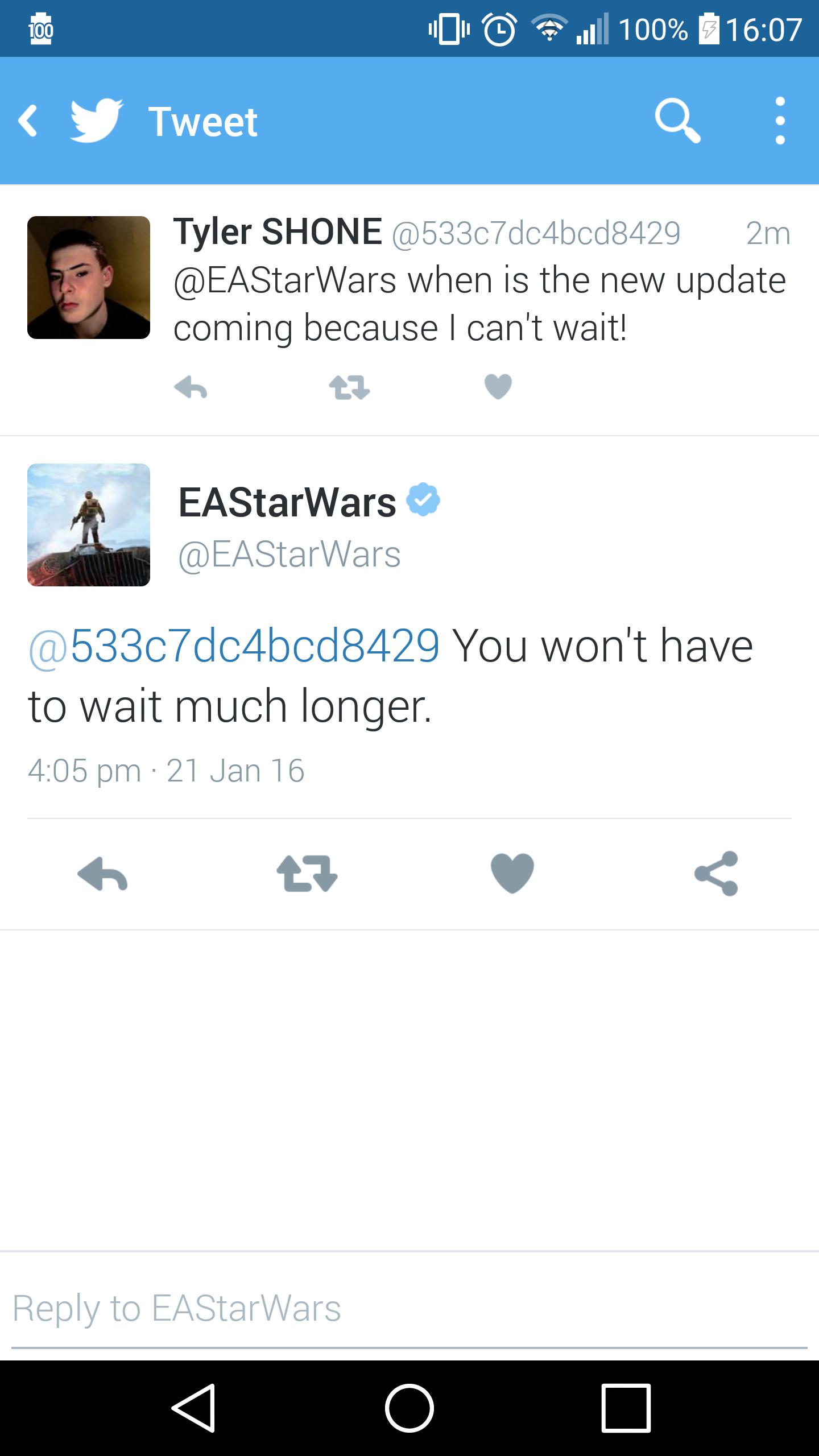 EA Announcement