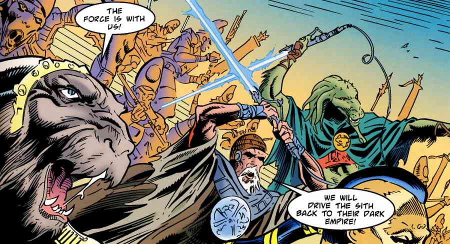 Swnn Retro Review Tales Of The Jedi Part One The Golden Age Of